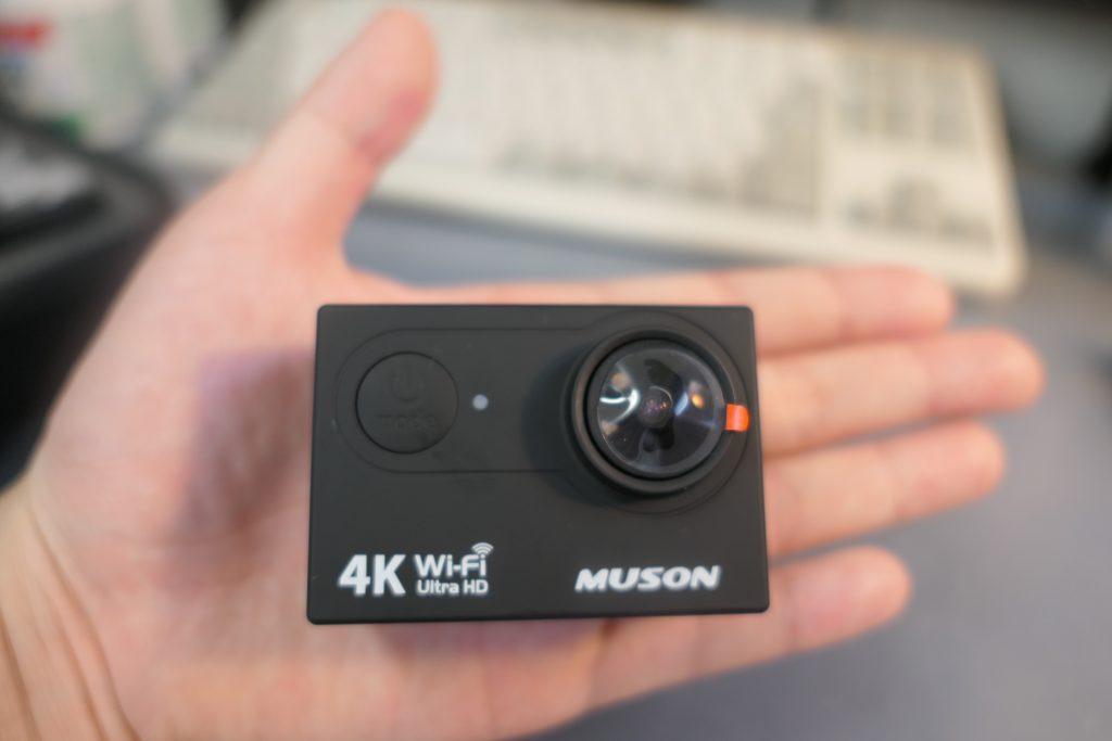 Amazonでもとても高評価のアクションカメラ「MUSON(ムソン)MC2 Pro1」を購入しました!    早速レビューしていきたいと思います。